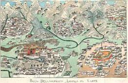 ВИд Будалинского дворца из книги Описание Тибета 1828