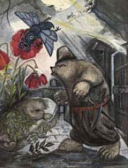 Иллюстрация Натальи Гончаровой книги Кодрянской Сказки