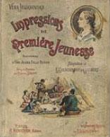 Обложка книги Желиховской на фр. яз. с иллюстрациями Соломко