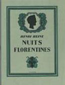 Гейне Флорентийские ночи с иллюстрациями Глюкмана
