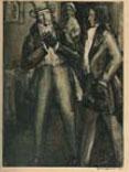 Рисунок Глюкмана к книге Гейне Флорентийские ночи