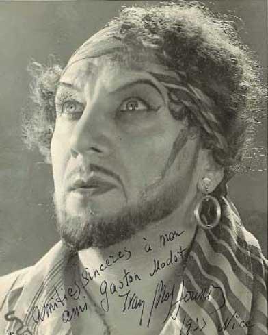 Автограф Иван Мозжухина
