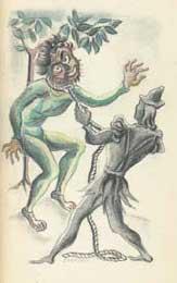 Рисунок Николая Исаева к книге Ренана