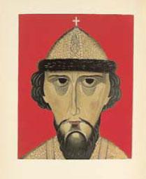 Портрет Бориса Годунова работы Василия Шухаева из одноименной книги