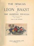 Титул книги рисунки Бакста к балету Спящая красавица